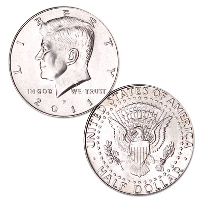 Image for 2011-P Kennedy Half Dollar from Littleton Coin Company
