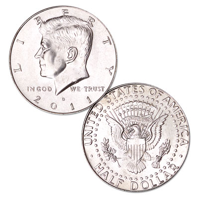Image for 2011-D Kennedy Half Dollar from Littleton Coin Company
