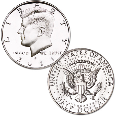 Image for 2011-S 90% Silver Kennedy Half Dollar from Littleton Coin Company