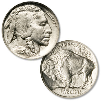 Image for 1913 Buffalo Nickel, Variety 1, Raised Mound from Littleton Coin Company