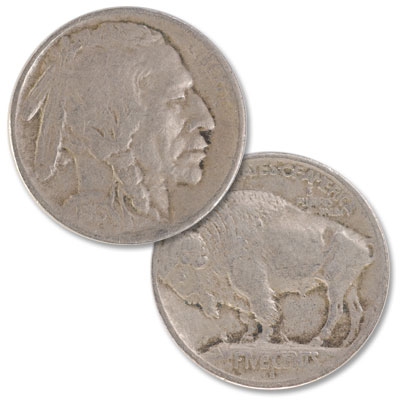 Image for 1913-S Buffalo Nickel, Variety 1, Raised Ground from Littleton Coin Company