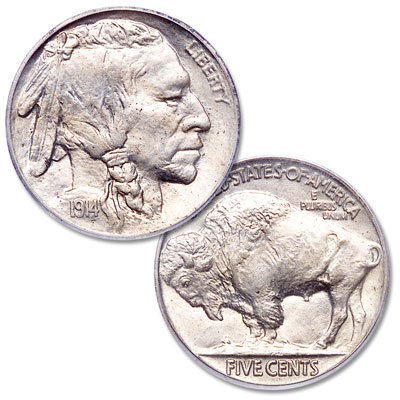 Image for 1914 Buffalo Nickel from Littleton Coin Company
