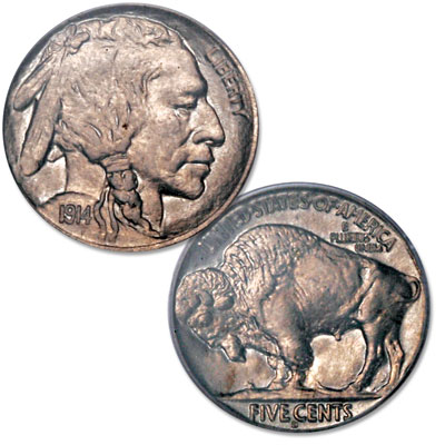Image for 1914-D Buffalo Nickel from Littleton Coin Company