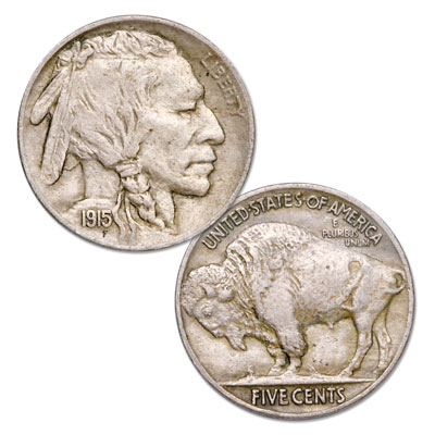 Image for 1915 Buffalo Nickel from Littleton Coin Company