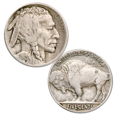 Image for 1915-D Buffalo Nickel from Littleton Coin Company