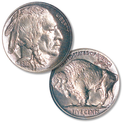 Image for 1916-S Buffalo Nickel from Littleton Coin Company