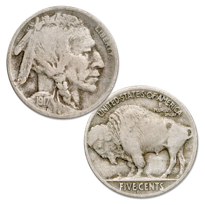 Image for 1917-D Buffalo Nickel from Littleton Coin Company