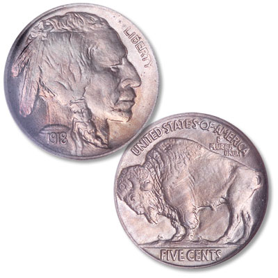 Image for 1918 Buffalo Nickel from Littleton Coin Company