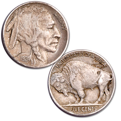 Image for 1924 Buffalo Nickel from Littleton Coin Company