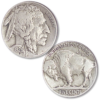 Image for 1926-S Buffalo Nickel from Littleton Coin Company