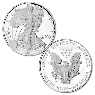Image for 2011-W Silver American Eagle from Littleton Coin Company