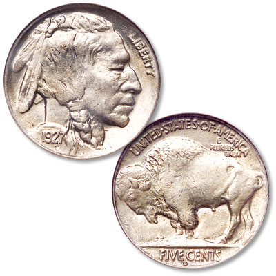 Image for 1927-D Buffalo Nickel from Littleton Coin Company