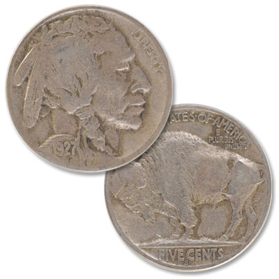 Image for 1927-S Buffalo Nickel from Littleton Coin Company