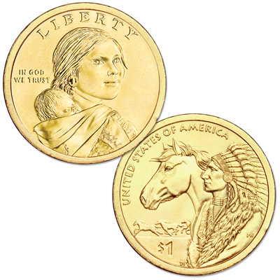 Image for 2012-D Native American Dollar from Littleton Coin Company