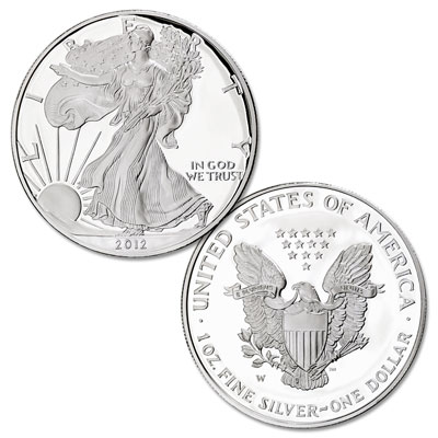 Image for 2012-W Silver American Eagle from Littleton Coin Company