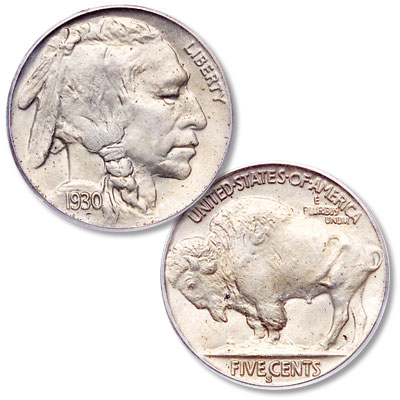 Image for 1930-S Buffalo Nickel from Littleton Coin Company