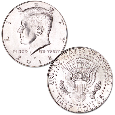 Image for 2012-P Kennedy Half Dollar from Littleton Coin Company
