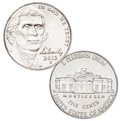 Image for 2012-D Jefferson Nickel from Littleton Coin Company
