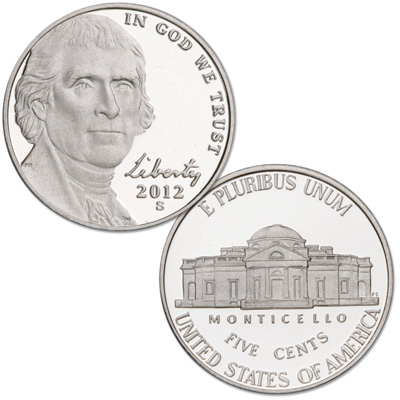 Image for 2012-S Jefferson Nickel from Littleton Coin Company