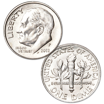 Image for 2012-P Roosevelt Dime from Littleton Coin Company