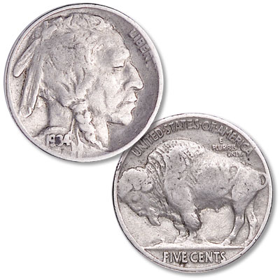 Image for 1934 Buffalo Nickel from Littleton Coin Company