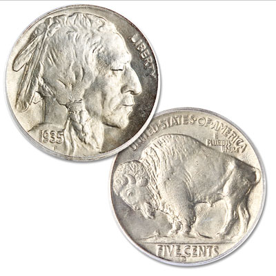 Image for 1935-D Buffalo Nickel from Littleton Coin Company
