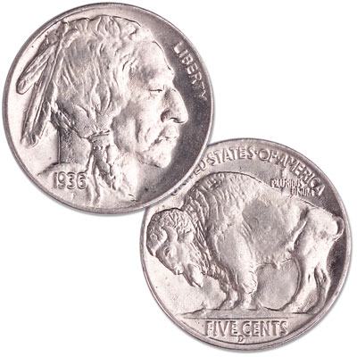 Image for 1936-D Buffalo Nickel from Littleton Coin Company