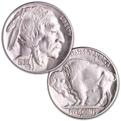 Image for 1936-S Buffalo Nickel from Littleton Coin Company