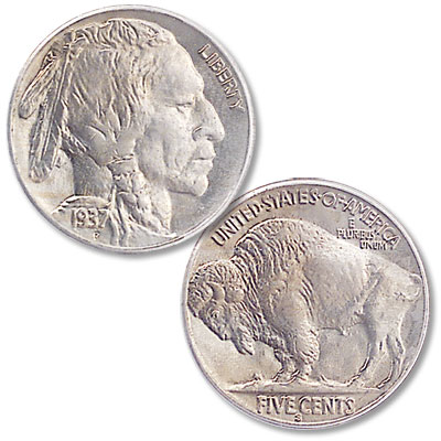 Image for 1937-S Buffalo Nickel from Littleton Coin Company