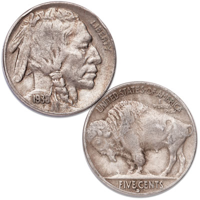 Image for 1938-D Buffalo Nickel from Littleton Coin Company