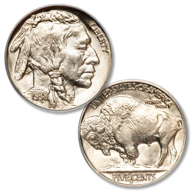 Image for 1938-D Buffalo Nickel, D over S from Littleton Coin Company