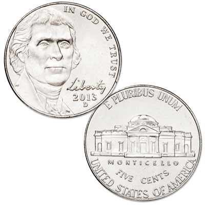 Image for 2013-D Jefferson Nickel from Littleton Coin Company