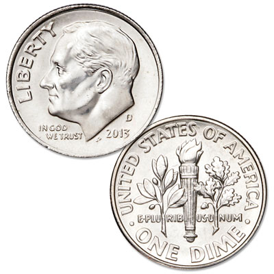 Image for 2013-D Roosevelt Dime from Littleton Coin Company