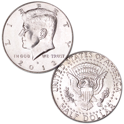 Image for 2013-D Kennedy Half Dollar from Littleton Coin Company