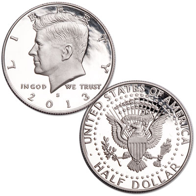 Image for 2013-S 90% Silver Kennedy Half Dollar from Littleton Coin Company