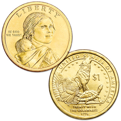 Image for 2013-P Native American Dollar from Littleton Coin Company