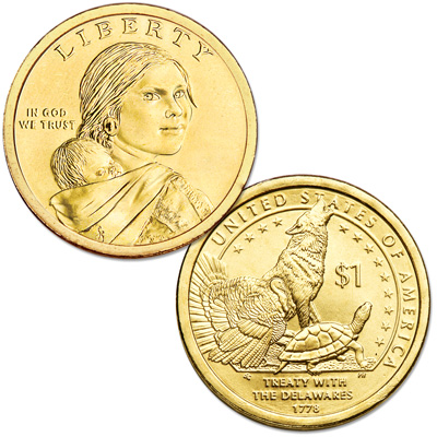 Image for 2013-D Native American Dollar from Littleton Coin Company