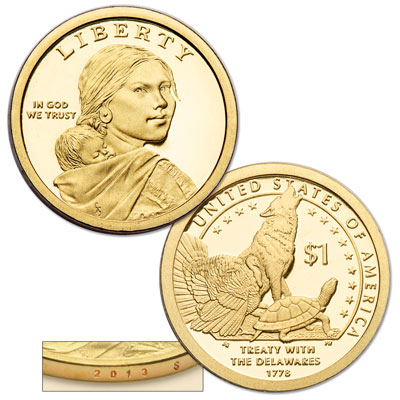 Image for 2013-S Native American Dollar from Littleton Coin Company