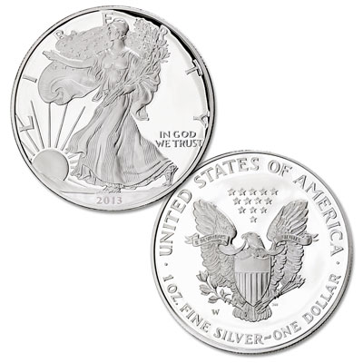 Image for 2013-W Silver American Eagle from Littleton Coin Company