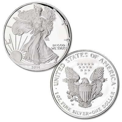 Image for 2014-W Silver American Eagle from Littleton Coin Company