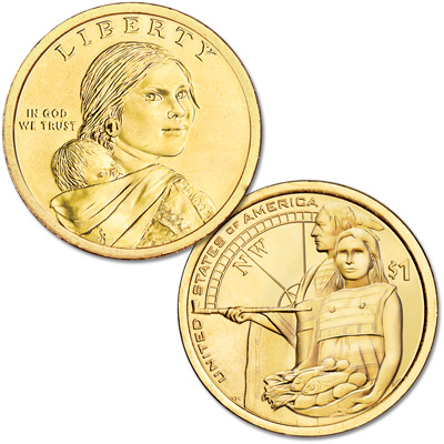 Image for 2014-D Native American Dollar from Littleton Coin Company