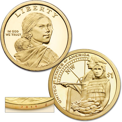 Image for 2014-S Native American Dollar from Littleton Coin Company