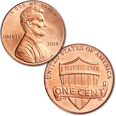 Image for 2014 Lincoln Head Cent from Littleton Coin Company