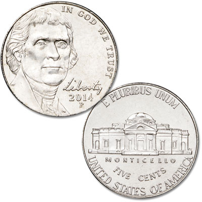 Image for 2014-P Jefferson Nickel from Littleton Coin Company