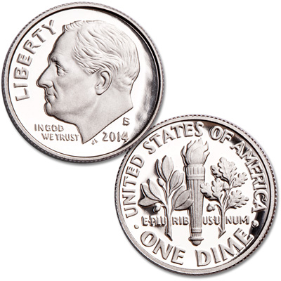 Image for 2014-S Roosevelt Dime from Littleton Coin Company