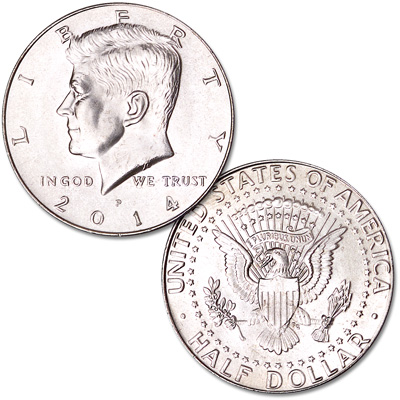 Image for 2014-P Kennedy Half Dollar from Littleton Coin Company