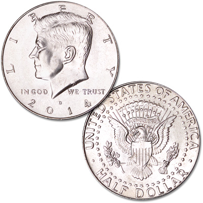 Image for 2014-D Kennedy Half Dollar from Littleton Coin Company