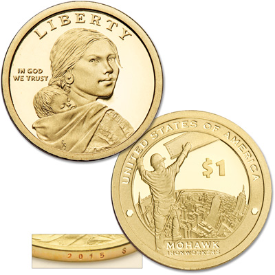 Image for 2015-S Native American Dollar from Littleton Coin Company
