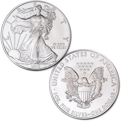 Image for 2015 $1 Silver American Eagle from Littleton Coin Company
