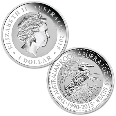 Image for 2015 Australia Silver $1 Kookaburra from Littleton Coin Company